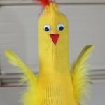 Flaske kyllingen