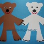 Bjørne på forskellige måder