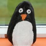 Pingvin af sten