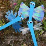 Guldsmed med forskellige vinger