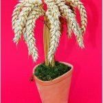 Høstdekorationen/palme