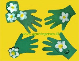Blomsterhånd