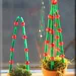 Juletræ af perler