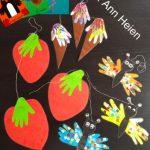 Jordbær, is og sommerfugle fra mine bøger
