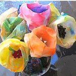 Tefilter blomst