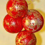 Rystede julekugler