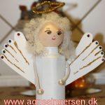 Engel af mælkekarton