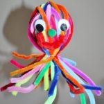 Blæksprutte med mange arme