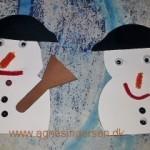 Snemand fra Den Kreative Julekalender