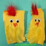 Kylling og andre frihåndsklip