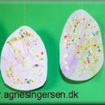 Påskeæg med æggeskaller