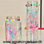 Vase og fyrfadsstage